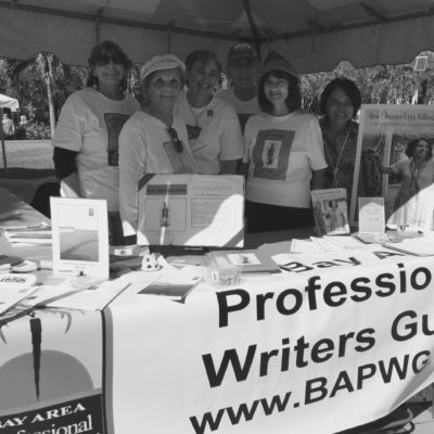 from left, Bonnie Quick, Carol Perry, Louise Harris, Steve Traiman, Donna Parrey, Sara Im